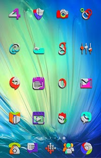 Fifty - icon pack - screenshot