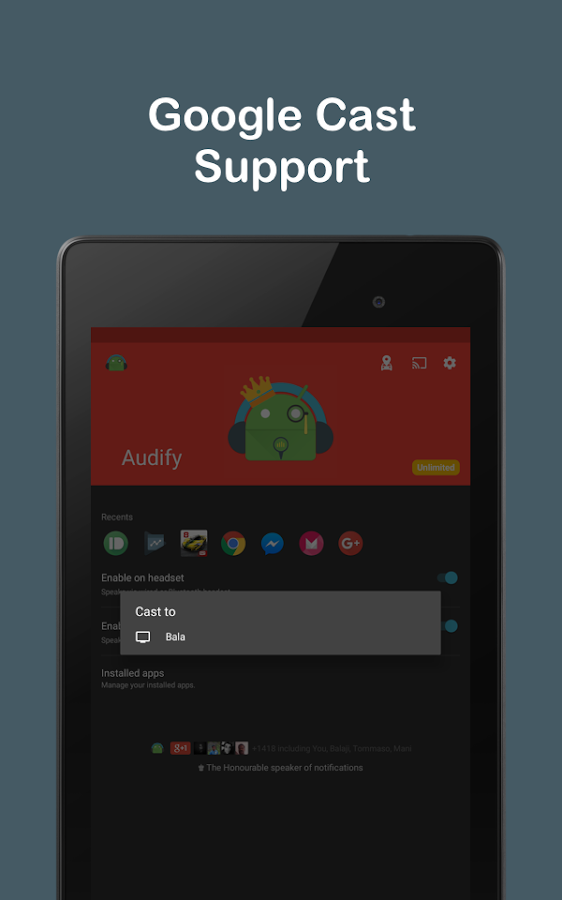 Audify Notifications Reader Screenshot 10