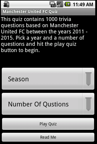 Quiz about Manchester United APK