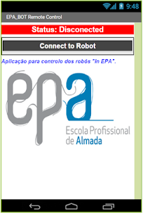 EPA_BOT Bluetooth - screenshot