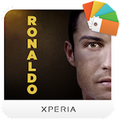 XPERIA™ Ronaldo Theme APK for Bluestacks