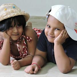 DAKSH AND RAI by SANGEETA MENA  - Babies & Children Children Candids