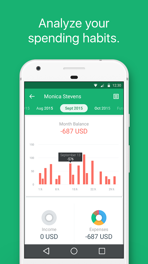 Spendee - budget and expense tracking & bank sync Screenshot 4