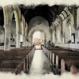 St Annes by Gareth Parkes - Digital Art Places ( building, congregation, church )