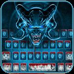Scary Evil Skull Keypad Icon