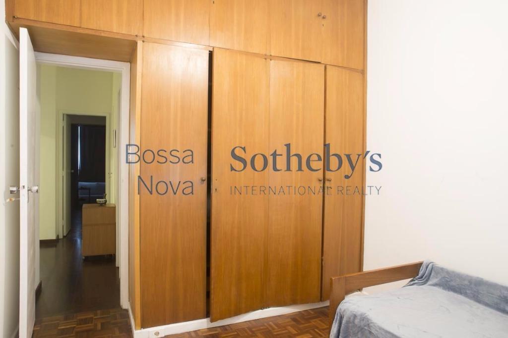 Três quartos no melhor de Ipanema.