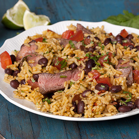 Southwest Steak & Rice/Steak & Fajita Rice with Black Bean & Corn Salsa