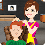 Barber Shop Brady Hair Salon Icon