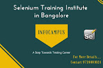 Selenium training institute in Bangalore with real time projects