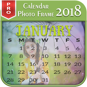 Calendar Photo Frame 2018 Pro For PC