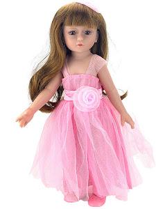 """Кукла серии """"Город Игр"""" 45 см, розовый"""