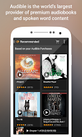 Screenshot of Audible for Android