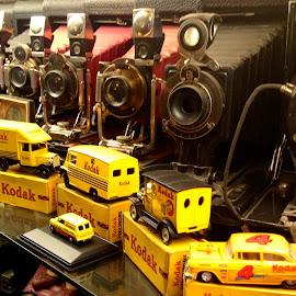 Kodakery by Campbell McCubbin - Artistic Objects Toys ( film, vans, cars, kodak, cameras,  )