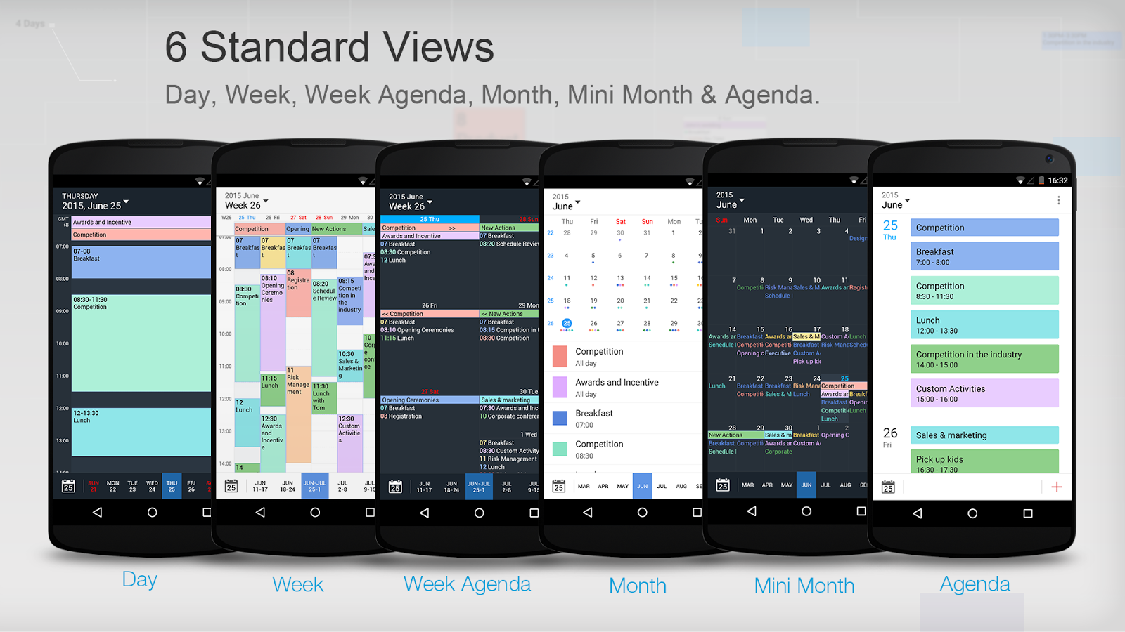 Tiny Calendar Pro-Calendar App Screenshot 1