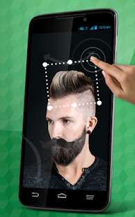 Mens Hairstyles Mustache - screenshot
