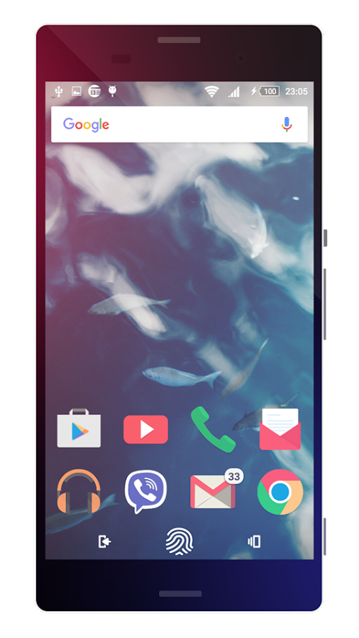 Touch | Theme for Sony Xperia Screenshot 4