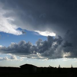 Dakota Storm by Tim Kessel - Landscapes Cloud Formations ( clouds, north dakota, weather, cloudscape, storm )