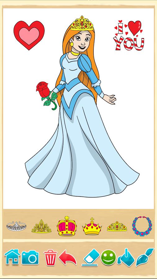 Все игры раскраски принцессы