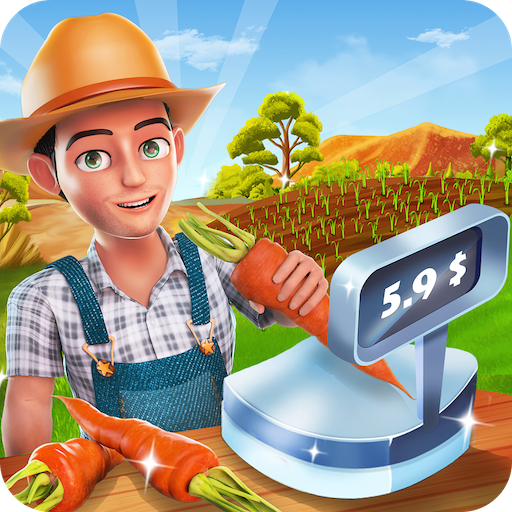 Big Farm Cash Register : Cashier Simulator Game (game)