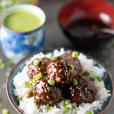Baked Teriyaki Asian Meatballs