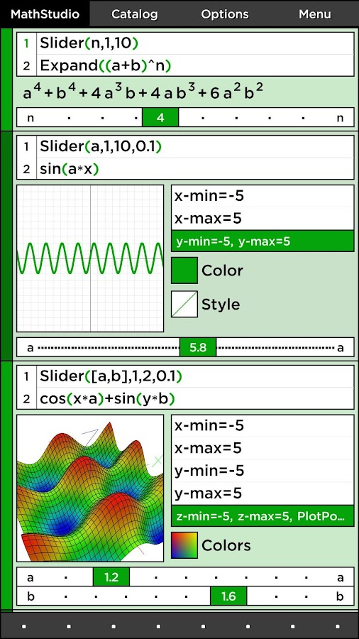 MathStudio Express Screenshot 1