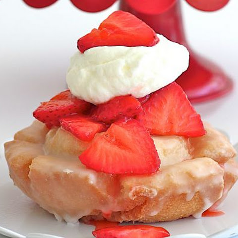 Old-Fashioned Donut Strawberry Shortcake