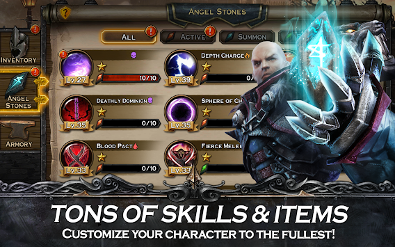 Angel Stone RPG APK screenshot thumbnail 5