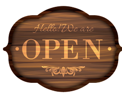 Hello We Are Open