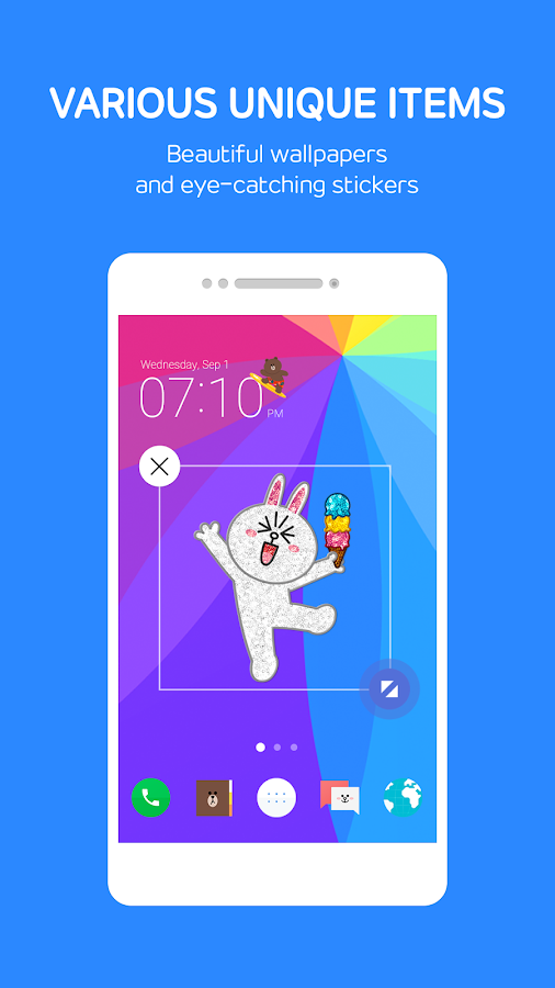 LINE Launcher Screenshot 3