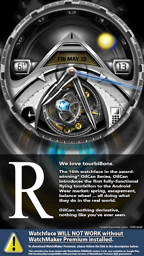 OilCanX2-R Flying Tourbillon - screenshot
