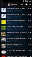 Screenshot of Audials Radio