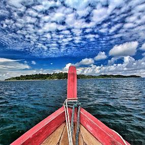 Let's go home..  by Fariz Mohammad - Transportation Boats