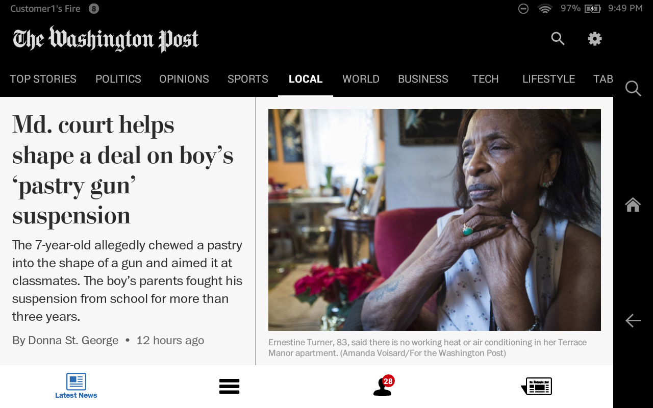 The Washington Post Classic Screenshot 9