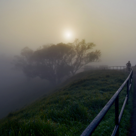 T H E    M I S T  by Anupam Hatui - Landscapes Weather ( fog, weather, places, summit, morning, landscape, mist )