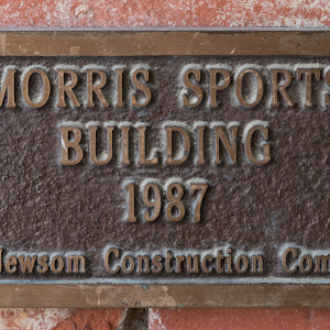 Morris Sports Building 1987 Bo Newsom Construction Company  Submitted by: @shinton