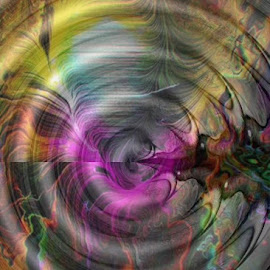 Abstract sound  by Virginia Howerton - Digital Art Abstract