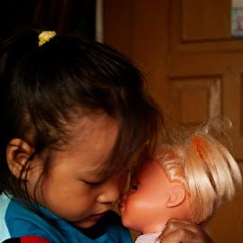 Love Baby by Rahman Hanifan - Babies & Children Child Portraits
