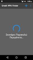 Screenshot of Greek WPA Finder