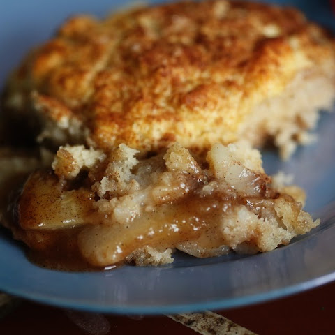 Caramelized Pear and Biscuit Pie