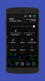 Amoledar CM13/12 Theme- screenshot thumbnail