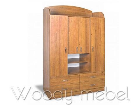 Детская мебель: Шкаф детский ШДУ - 3