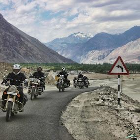 Riders by Mangesh Jadhav - Transportation Motorcycles
