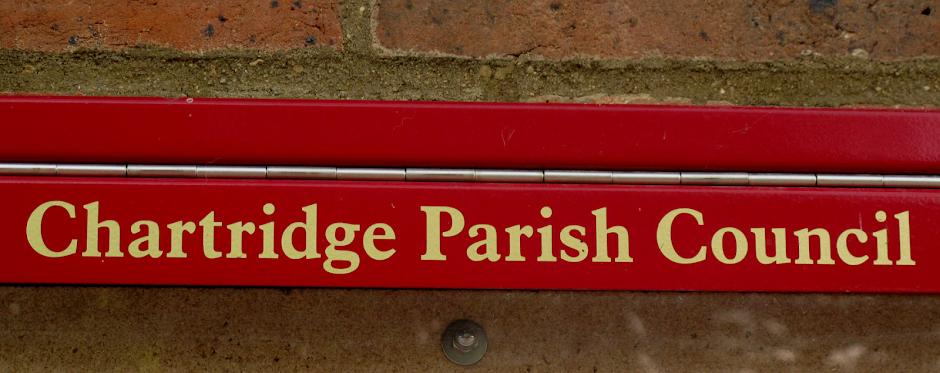 Chartridge Parish Council sign