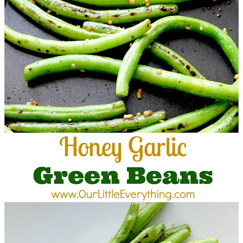 Honey Garlic Green Beans