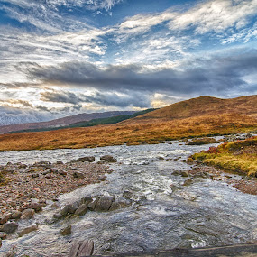 HDR Try (Clashgour, Scotland) by Bariscan OZKALAY - Landscapes Travel ( scotland, pwclandmarks, hdr, d7000, clashgour, landscape )