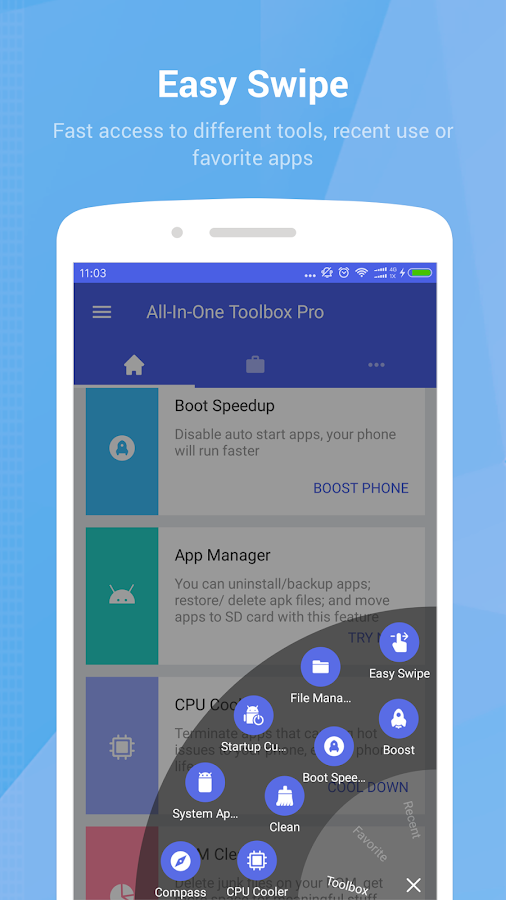 All-In-One Toolbox: Cleaner, Booster, App Manager Screenshot 7