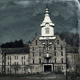Creepy and kookey  by Renee Burmer - Novices Only Landscapes ( history, even, weston, lunatic asylum )