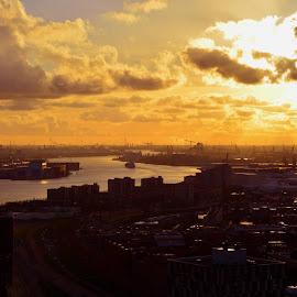 Vedere din Turnul Euromast - Rotterdam. :) by Enache Loredana - Landscapes Travel