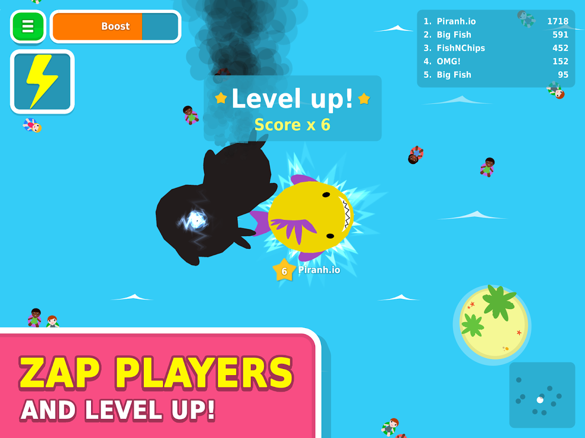 Piranh.io Screenshot 6