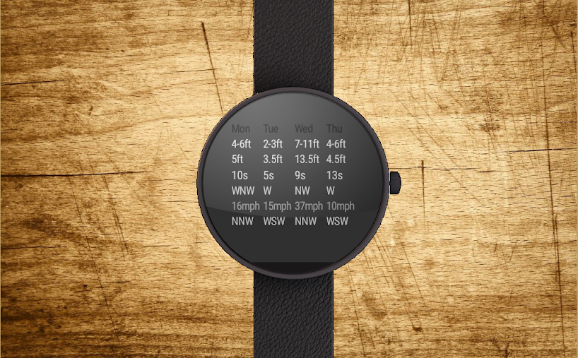 Surface Surf Watch Face APK